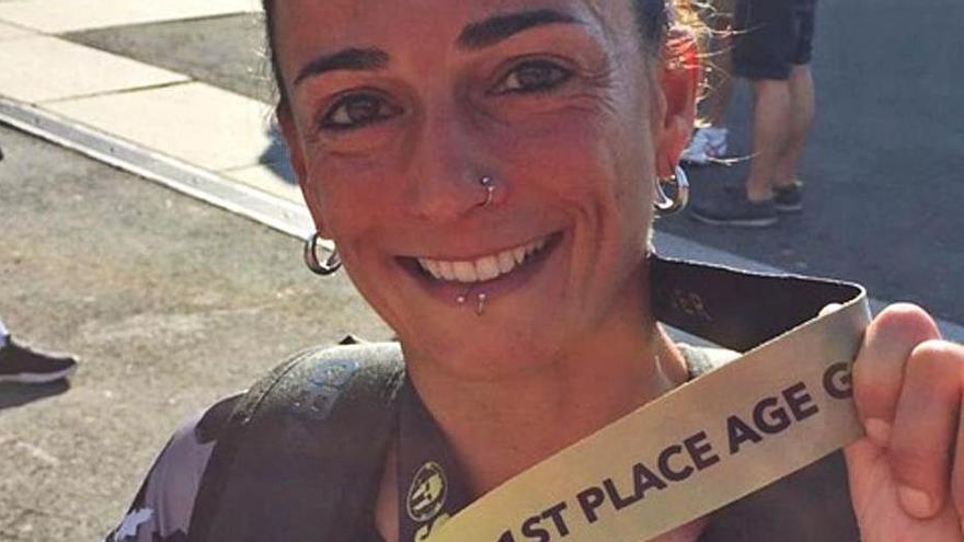 Elena Rueda guanya la 50 Km Ultra de Morzine | ARXIU PARTICULAR
