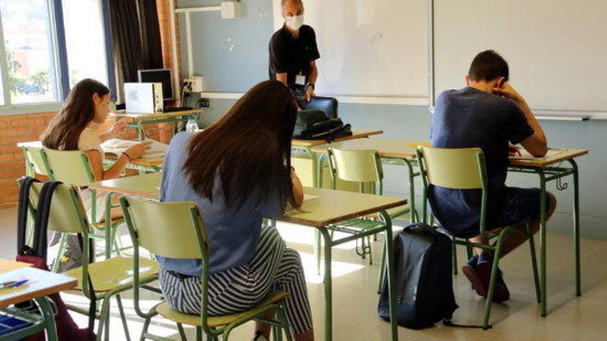 El 76% dels alumnes presentats supera les proves de selectivitat de setembre