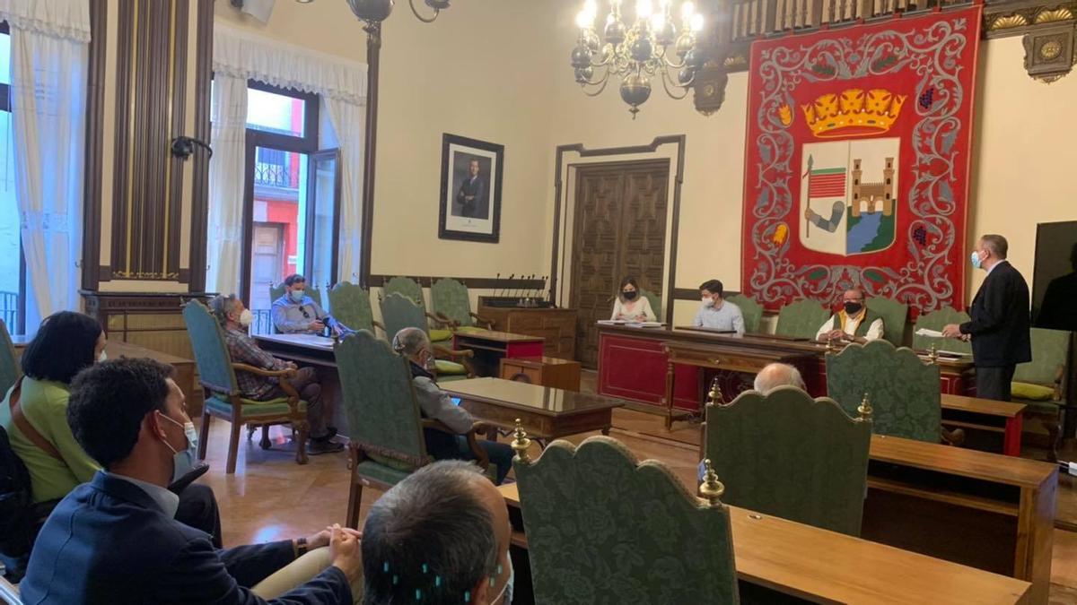Reunión de constitución de la nueva Mancomunidad de Interés General (MIG) de Zamora y su Alfoz