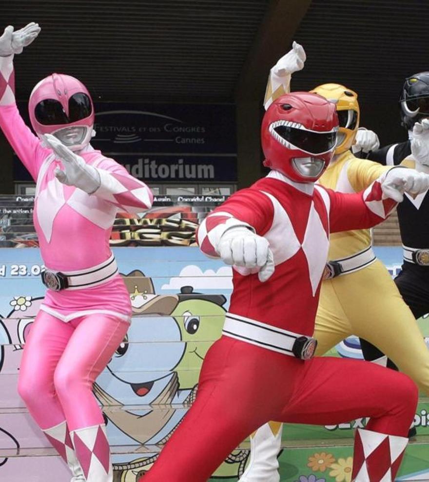 Los Power Rangers.