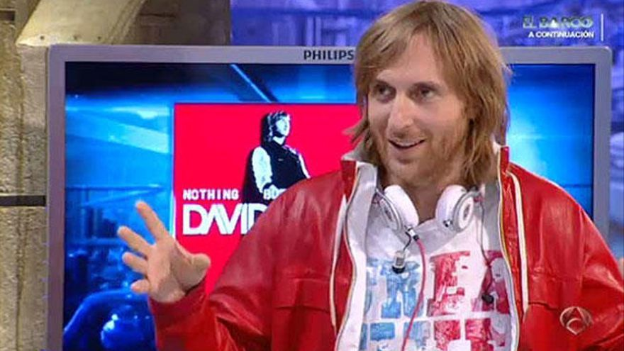 David Guetta vuelve a 'El Hormiguero'