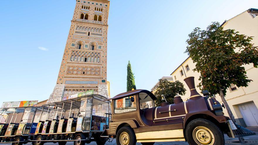 El tren turístico vuelve a las calles de Teruel este viernes