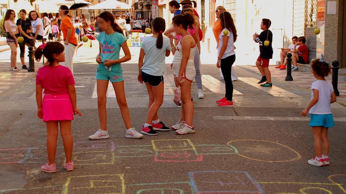 Imagen de archivo de actividades en la Avenida de Andalucía