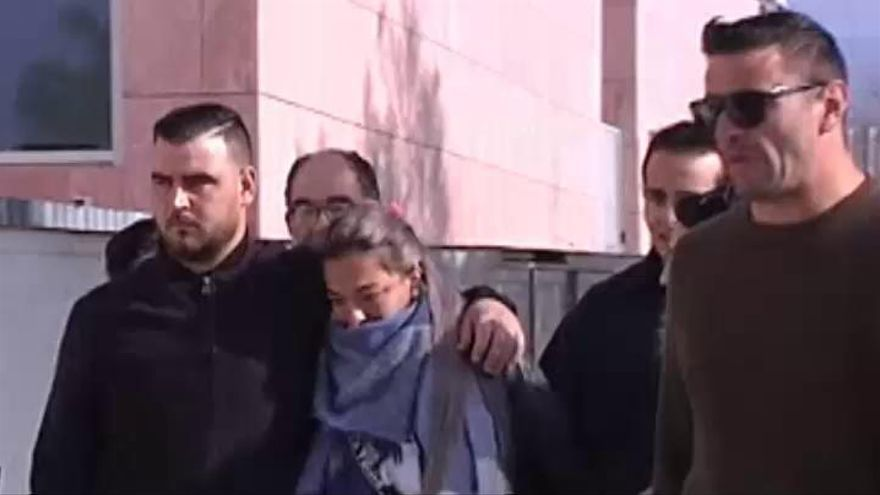 Los padres de Julen, abatidos durante su declaración