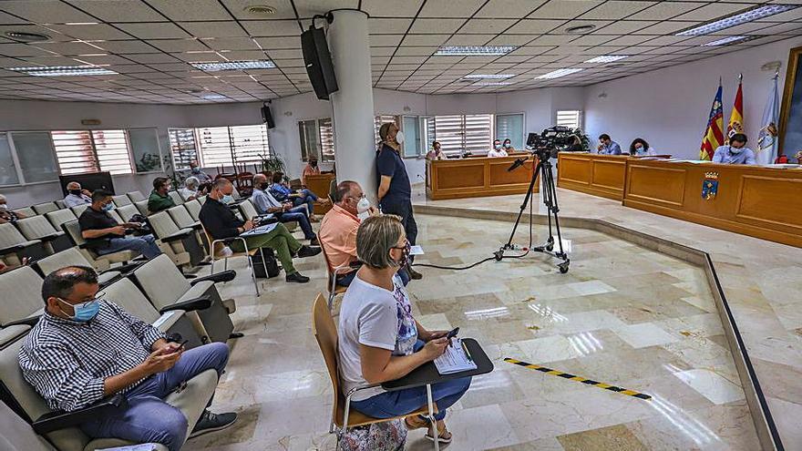 El PP aplaza el pleno que iba a aprobar hoy el presupuesto para 2021 de Torrevieja