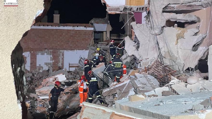 Colocan sensores para buscar a los desaparecidos del derrumbe de Peñíscola
