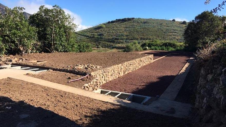 Mejoran el saneamiento de las aguas residuales de Las Lagunetas
