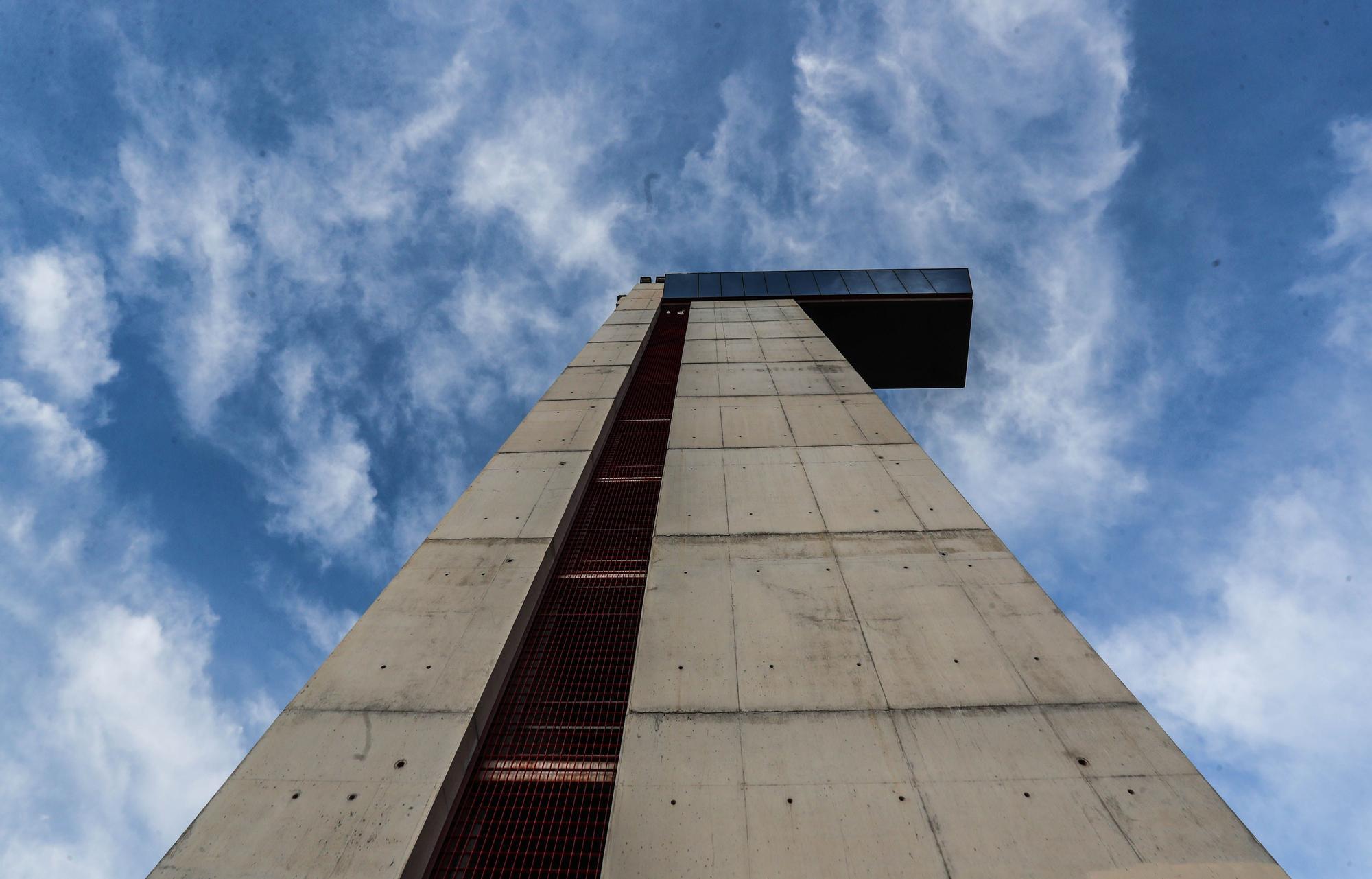 Así se encuentra la Torre de Miramar en la actualidad