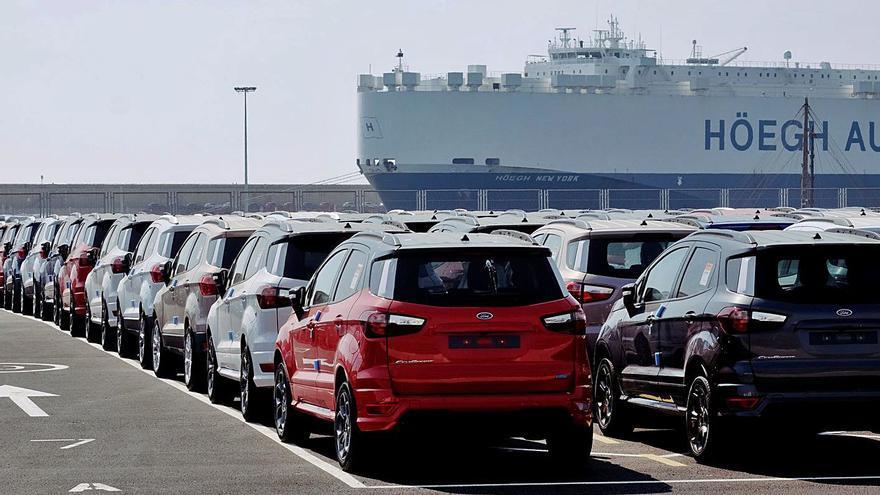 La crisis del automóvil lastra a las exportaciones de la C. Valenciana