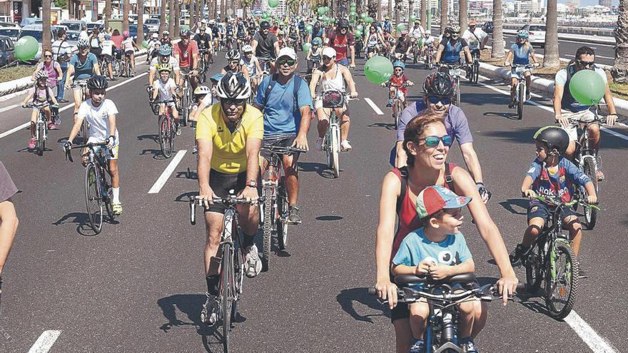 El virus frena la fiesta de la bici de la Semana Europea de la Movilidad