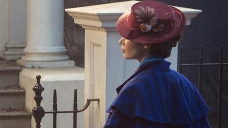 Primera imagen de Emily Blunt como Mary Poppins