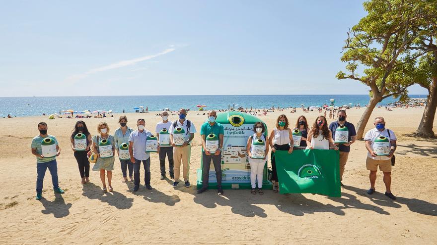 Roses competirà aquest estiu per aconseguir la Bandera Verda d'Ecovidrio