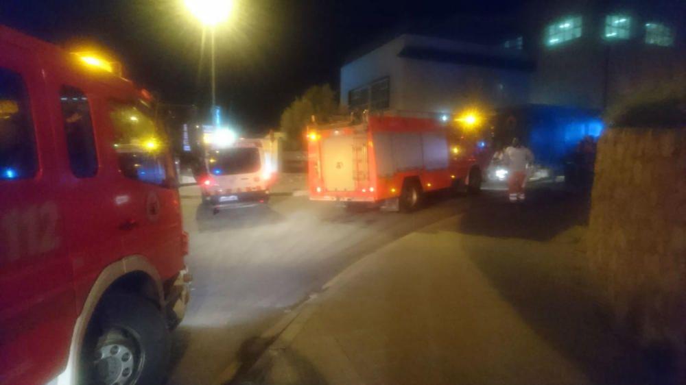 Incendio en una residencia de ancianos de Alzira