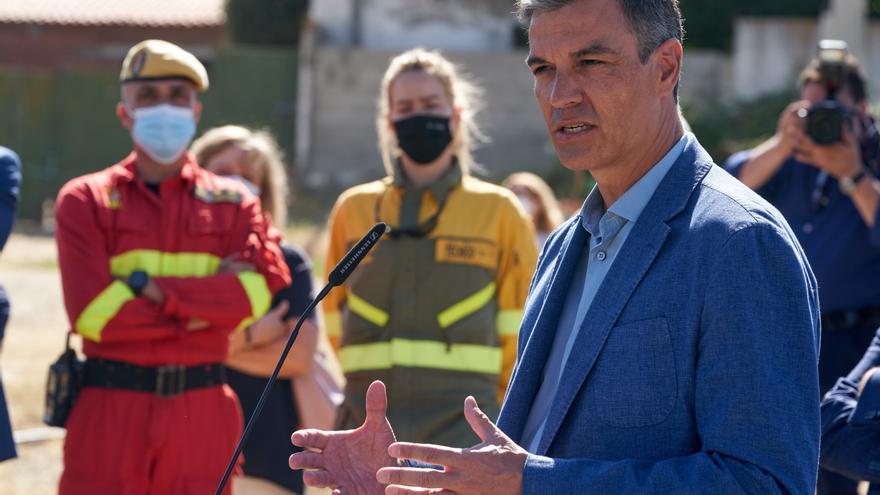 El Gobierno declarará a Azuébar como «zona gravemente afectada» por el incendio forestal