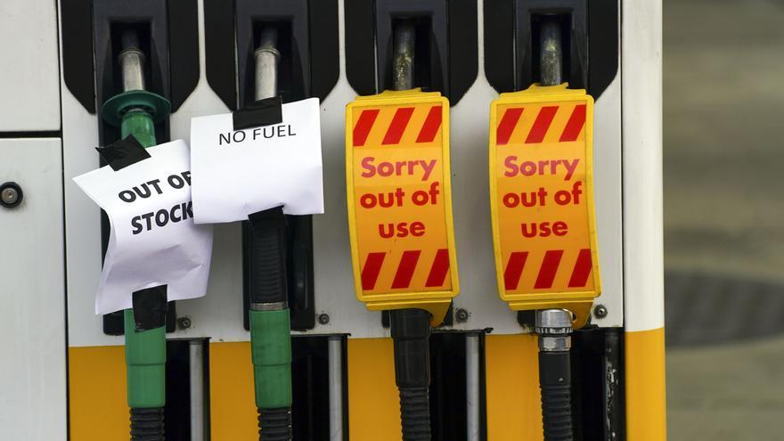 Reino Unido afronta serios problemas con el suministro de gasolina
