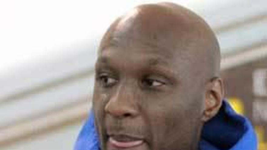 Lamar Odom se sincera en televisión