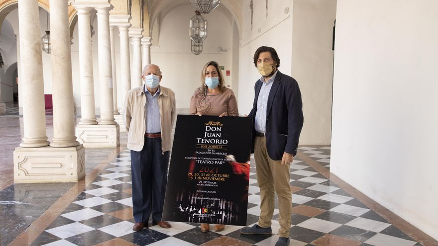 El Palacio de la Merced vuelve a ser escenario del Don Juan Tenorio de Zorrilla