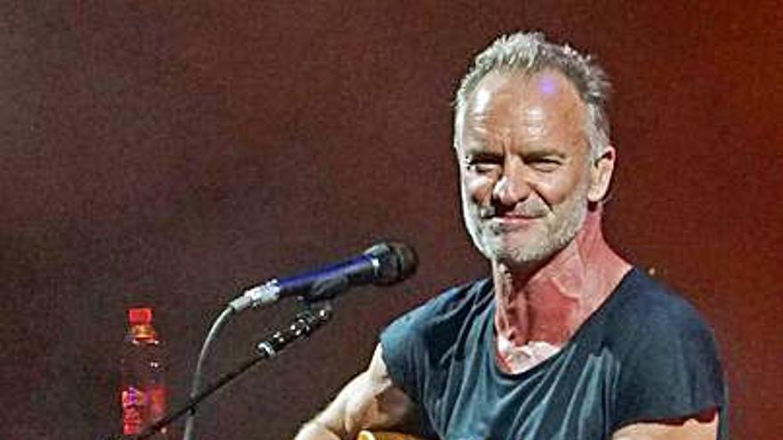 Sting tocará en Castrelos en verano de 2022