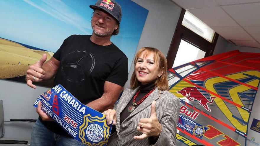 Dunkerbeck promociona la marca Gran Canaria en Francia