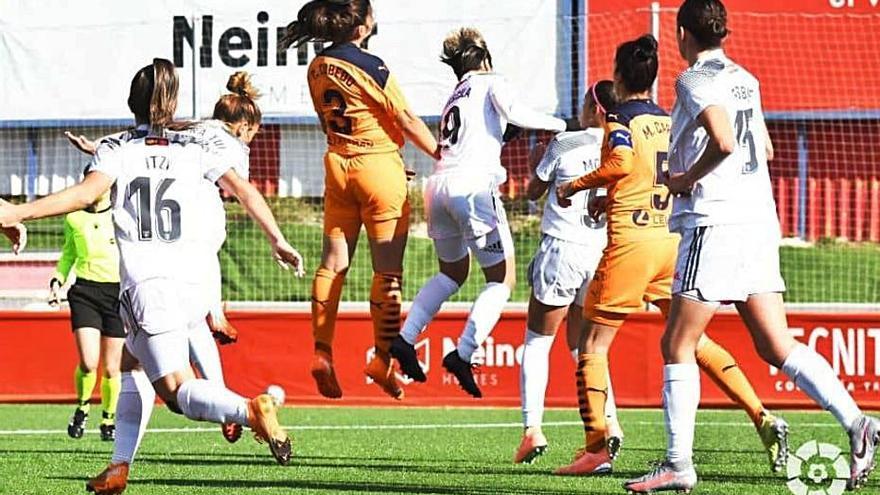 El Valencia CF Femenino sale humillado de Madrid