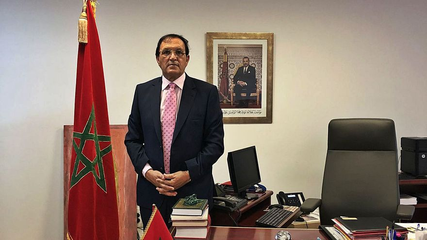 """Ahmed Moussa: """"El Cabildo no tiene competencias en el Sáhara y debería abstenerse"""""""