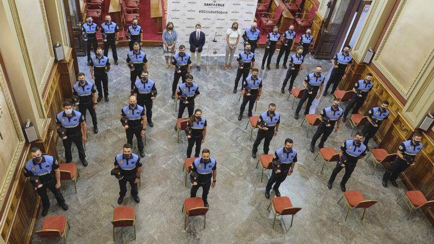 La Policía Local chicharrera incorpora a 30 agentes en prácticas