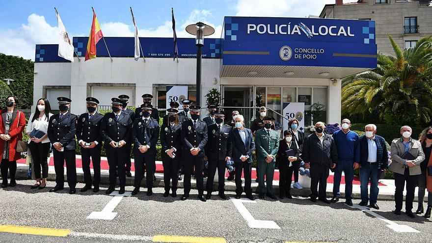 Medio siglo de la Policía Local de Poio