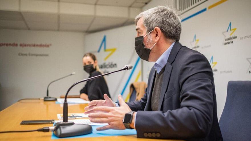 CC critica el plan de ayudas a la actividad empresarial del Gobierno canario