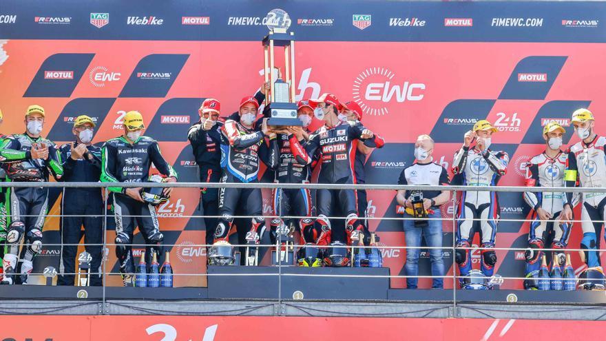 David Checa queda segon a les 24 Hores de Le Mans