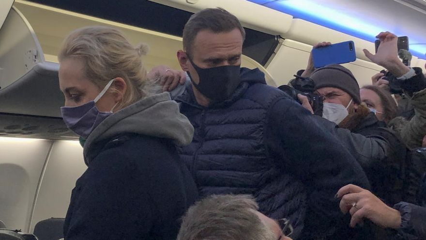 Detenen l'opositor rus Aleksei Navalni a l'aeroport de Moscou
