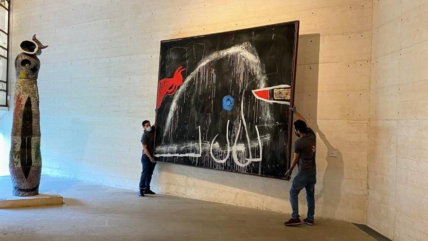 Miró-Stiftung auf Mallorca schließt Großteil der Ausstellungsräume