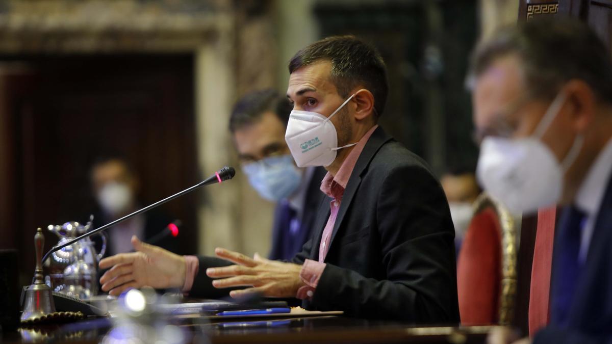 El vicealcalde Sergi Campillo, en una imagen de archivo.
