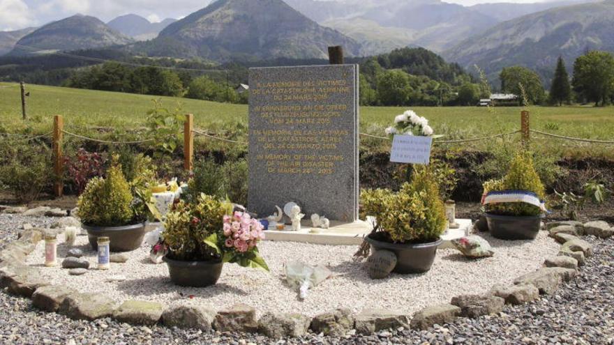 Homenaje a las víctimas de Germangwings en el cuarto aniversario del siniestro