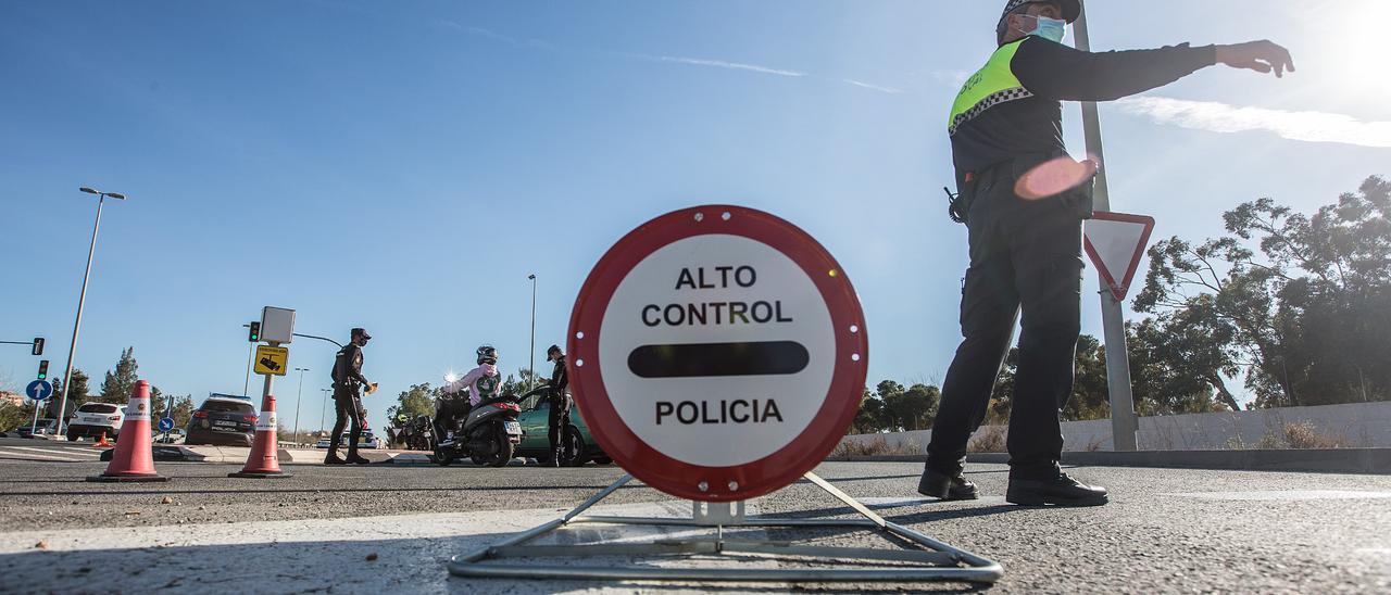 Cierre perimetral de la Comunidad Valenciana.