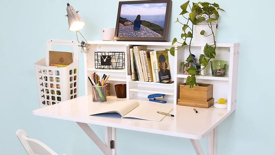 Los mejores escritorios plegables para trabajar o estudiar sin ocupar casi espacio