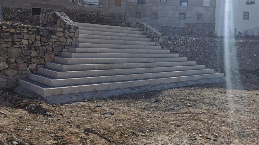 Prosiguen las obras de acondicionamiento del Huerto Ródenas en Cehegín
