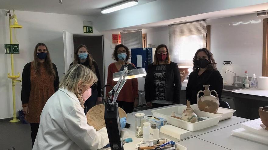 El Museu de Mallorca establece un protocolo de entrega de material arqueológico