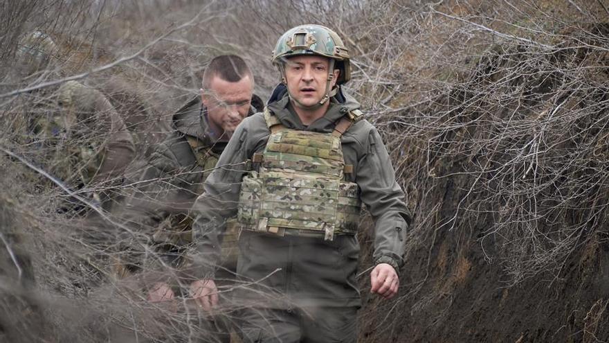 """Ucrania """"no cederá"""" ante la presión de Rusia en su frontera"""