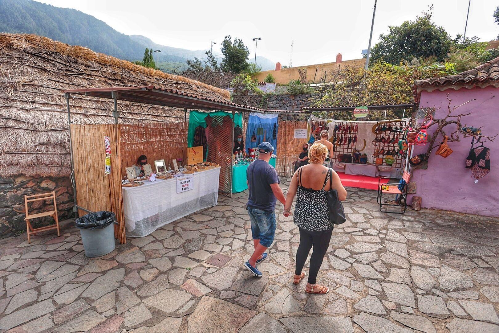 Inauguracion de la Feria de Artesanía de Pinolere