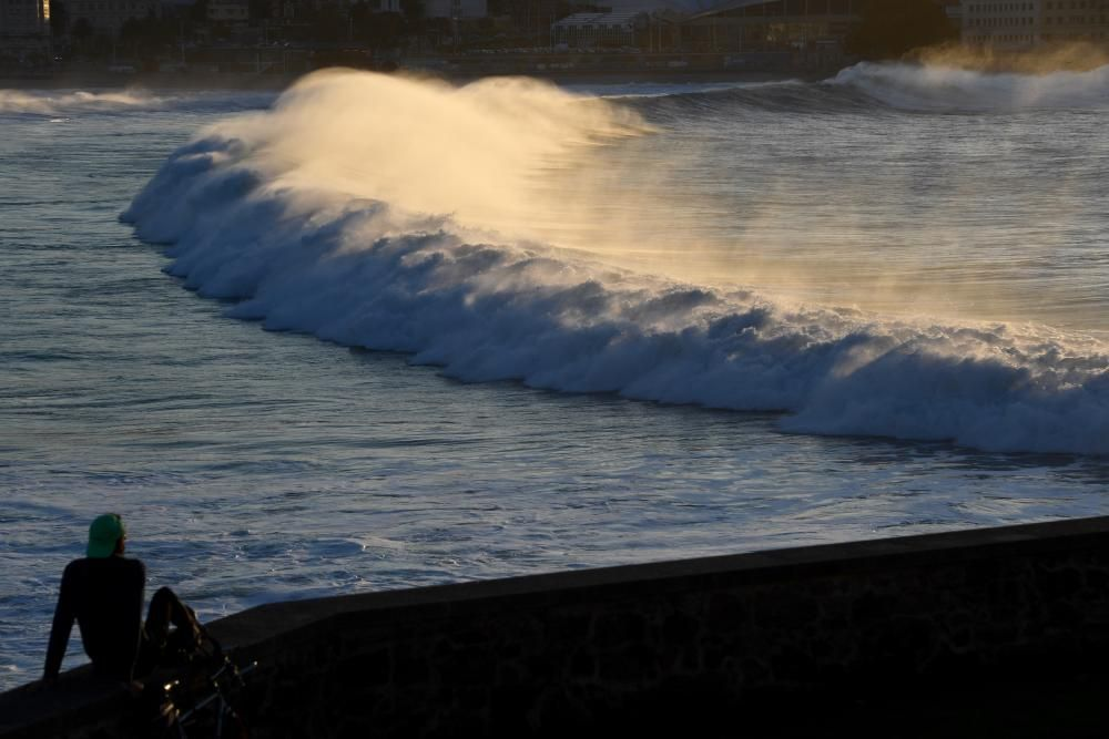 Alerta naranja en el litoral coruñés