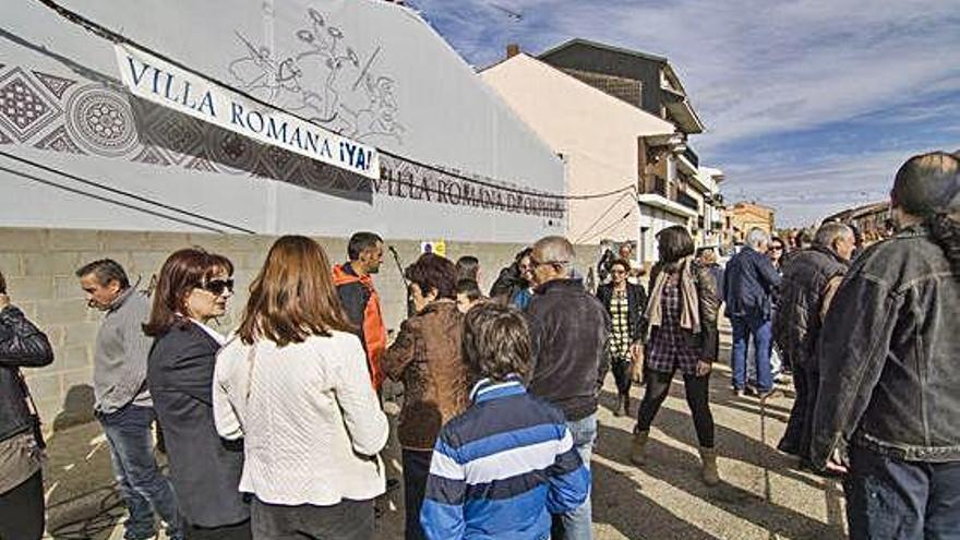 La Villa Romana de Camarzana solo se puede visitar previa reserva telefónica