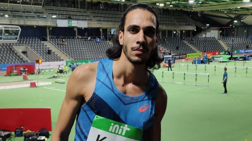 Mohamed Katir, medalla de plata en el Nacional en pista cubierta