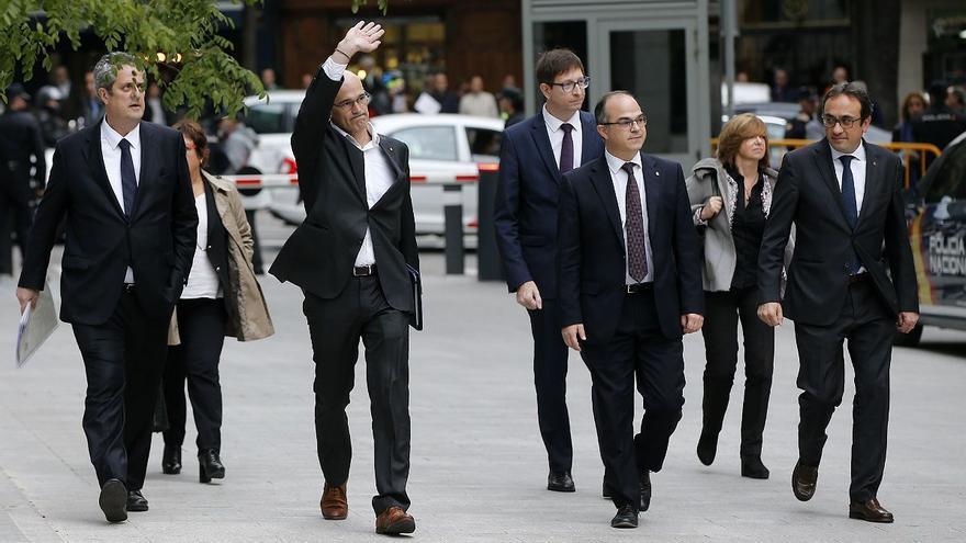 Dos magistrados del TC consideran que la condena por sedición de los Jordis vulneró su derecho de reunión