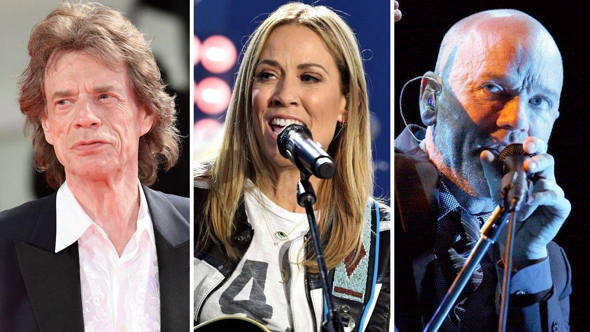 Jagger, Crow y Stipe lideran la campaña contra el uso de su música en los mitines