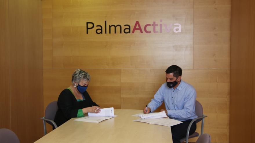 Los alumnos de la UIB podrán realizar prácticas en PalmaActiva