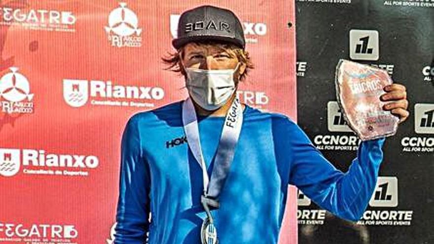 Cristóbal Dios acaba tercero en el Campeonato Xunta de Galicia de Triatlón Cross