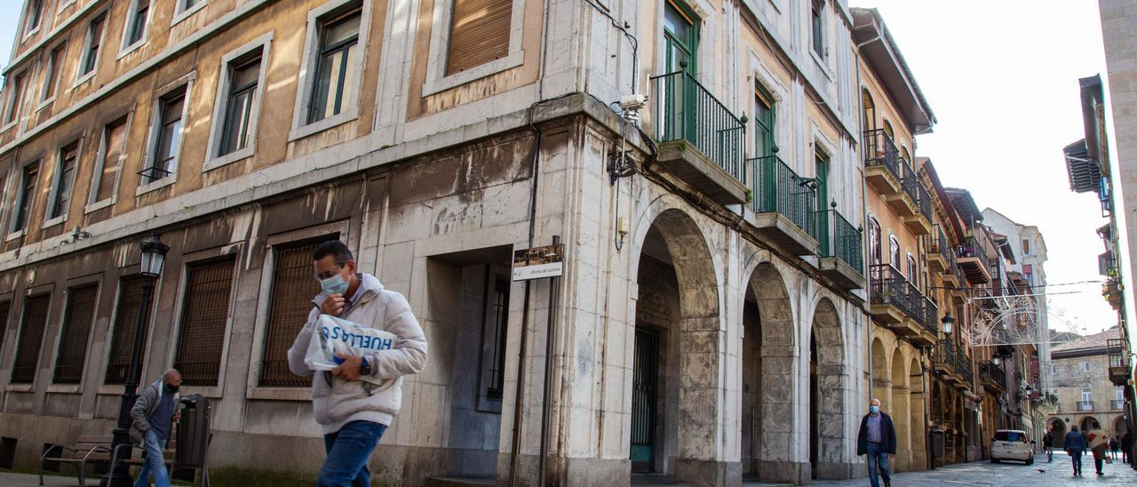 """El edificio de Correos de La Ferrería, futura sede del Conservatorio """"Julián Orbón""""."""
