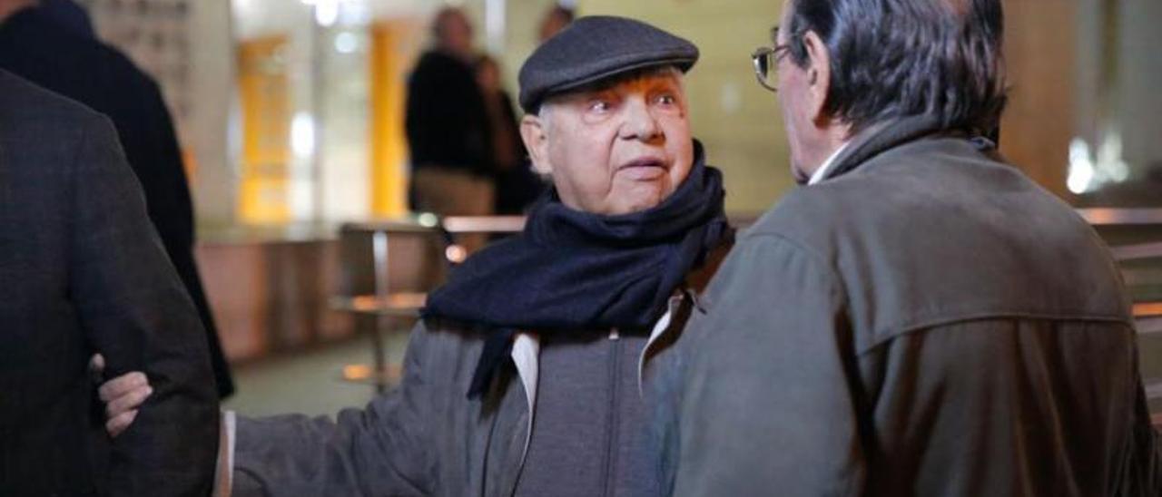 Vicente Lladró, en una imagen de 2017. | F. BUSTAMANTE