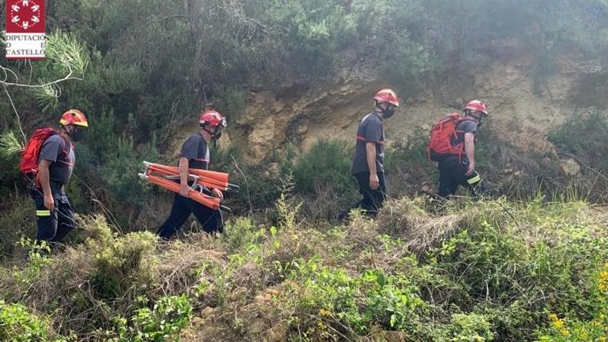 ACTUALIZACIÓN | El calor está detrás de dos rescates de senderistas en Llucena y Villamalur