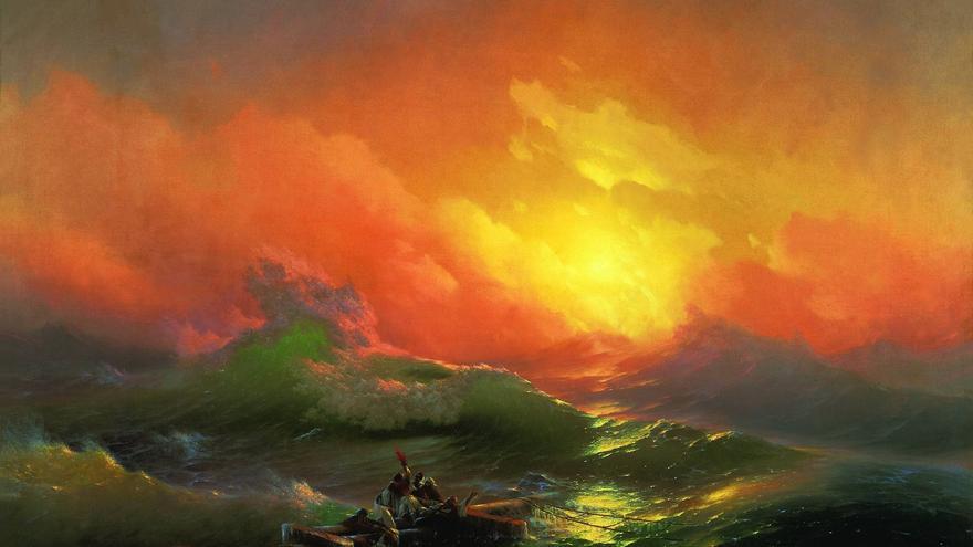Iván Aivazovsky y los pintores marinistas en Rusia